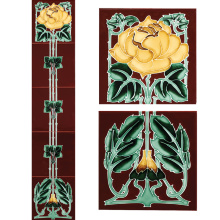 Stovax English Rose Tile Set, набор плитки 5 шт