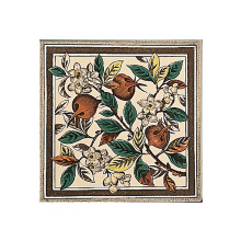 Stovax Apple Blossom Tile, плитка 1 шт