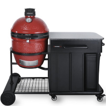Kamado Joe Classic II Red Cart