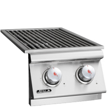 Bull Slide-In Double Side Burner